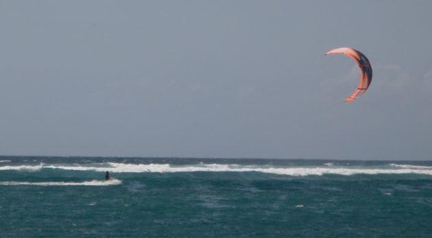 David kitesurf in Bali