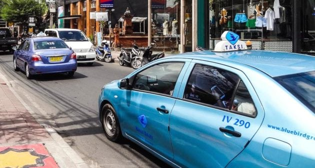 Bluebird Taxicab