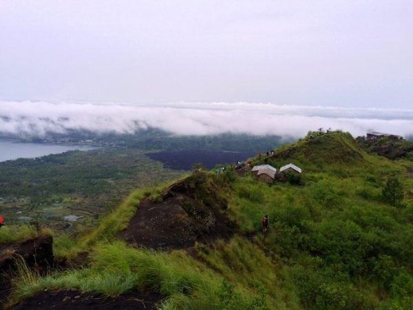 Mount Batur peak