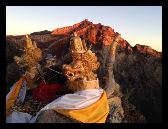 Mount Agung temple