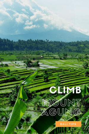 Tips for climbing mount agung