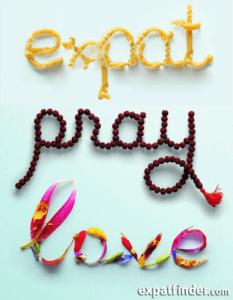 expat pray love