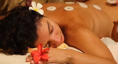 3 point spa ubud hot stone massage