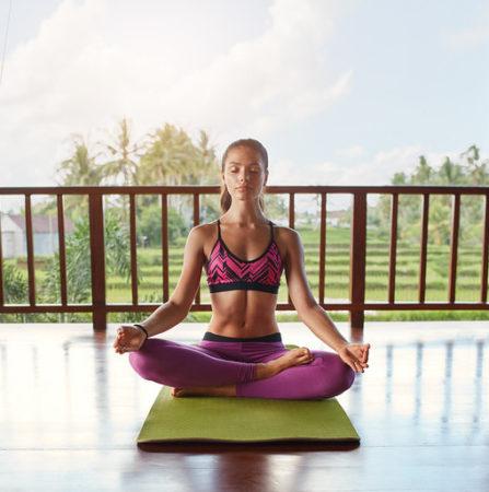 meditation Ubud yoga house