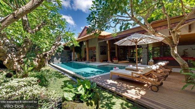 Luxury villa in Bali