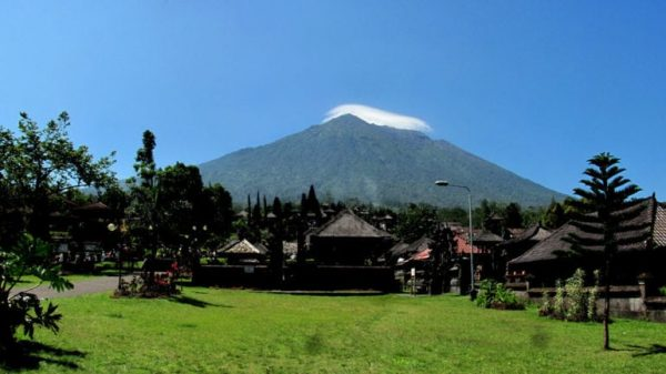 The holiest volcano of Bali
