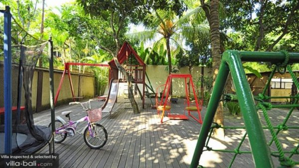 Kids playground on-site