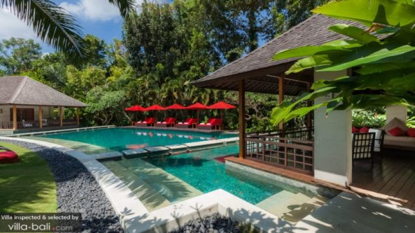 Family friendly villa in bali