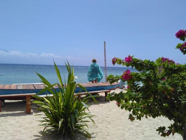 Nusa Lembongan beach