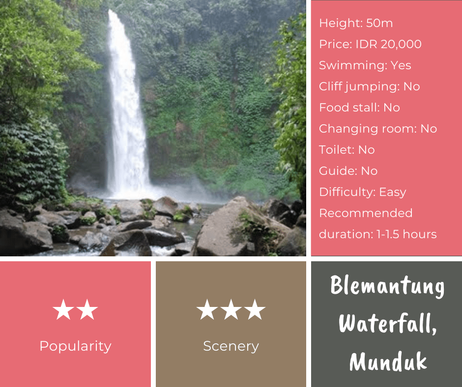 Blematung Waterfall Bali