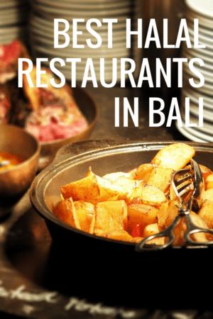 halal food bali