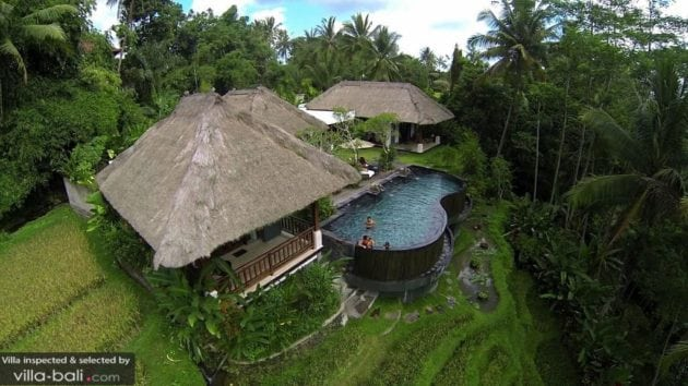 what to do in ubud: stay in a villa