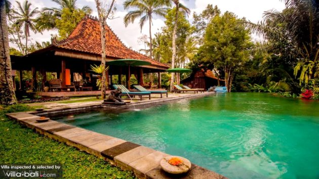 best villas in Ubud