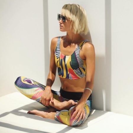Fashionable yoga wear