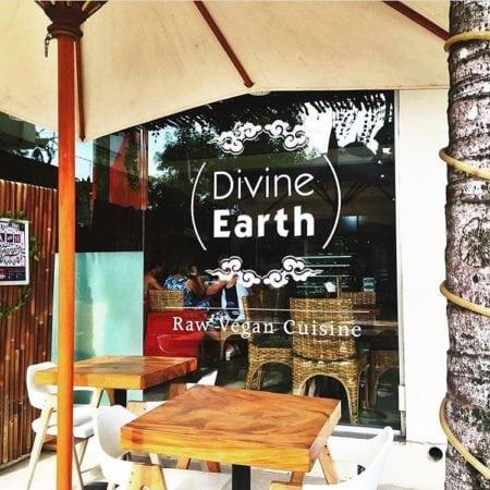 Divine earth, vegan cafes in seminyak