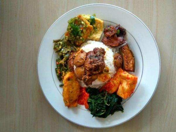 Vegan local food bali