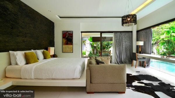villa for romantic couples in Canggu