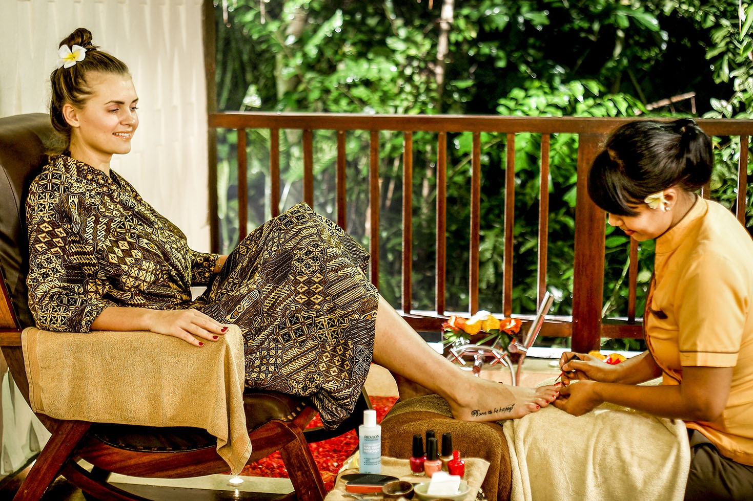 Spa treatments in Bali