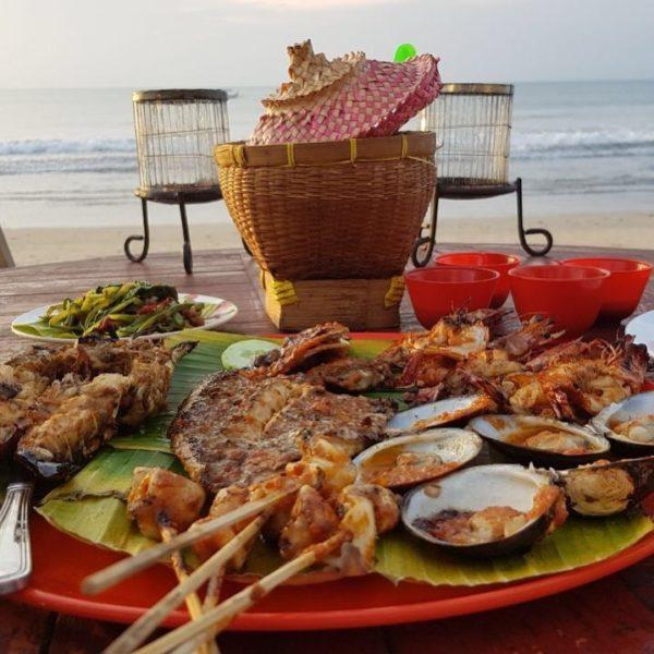 Seafood in Jimbaran