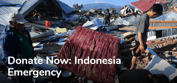 Sulawesi earthquake - Humanity and Inclusion Donation