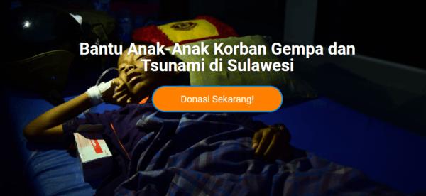 Help Sulawesi victims - UNICEF