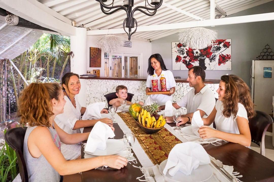 villa time in Bali