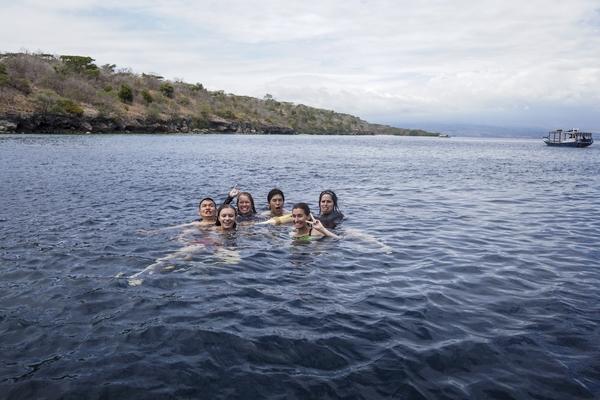 VF snorkeling