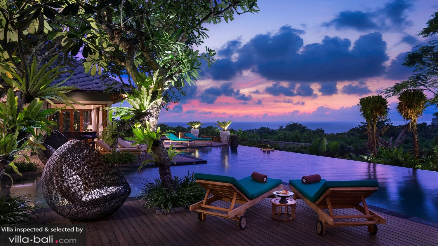bali villas with ocean views