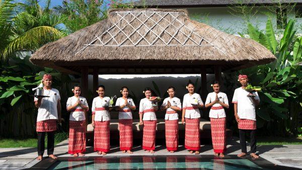 Staff at Villa Abakoi