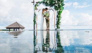 How to plan your villa wedding in Bali. Credit: The Seven Agency