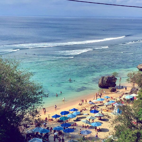 Uluwatu travel guide for families Padang Padang Beach in Uluwatu Bali