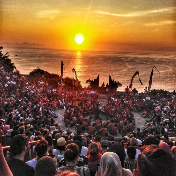Traditional Kecak Dance at Uluwatu Temple Uluwatu travel guide for families